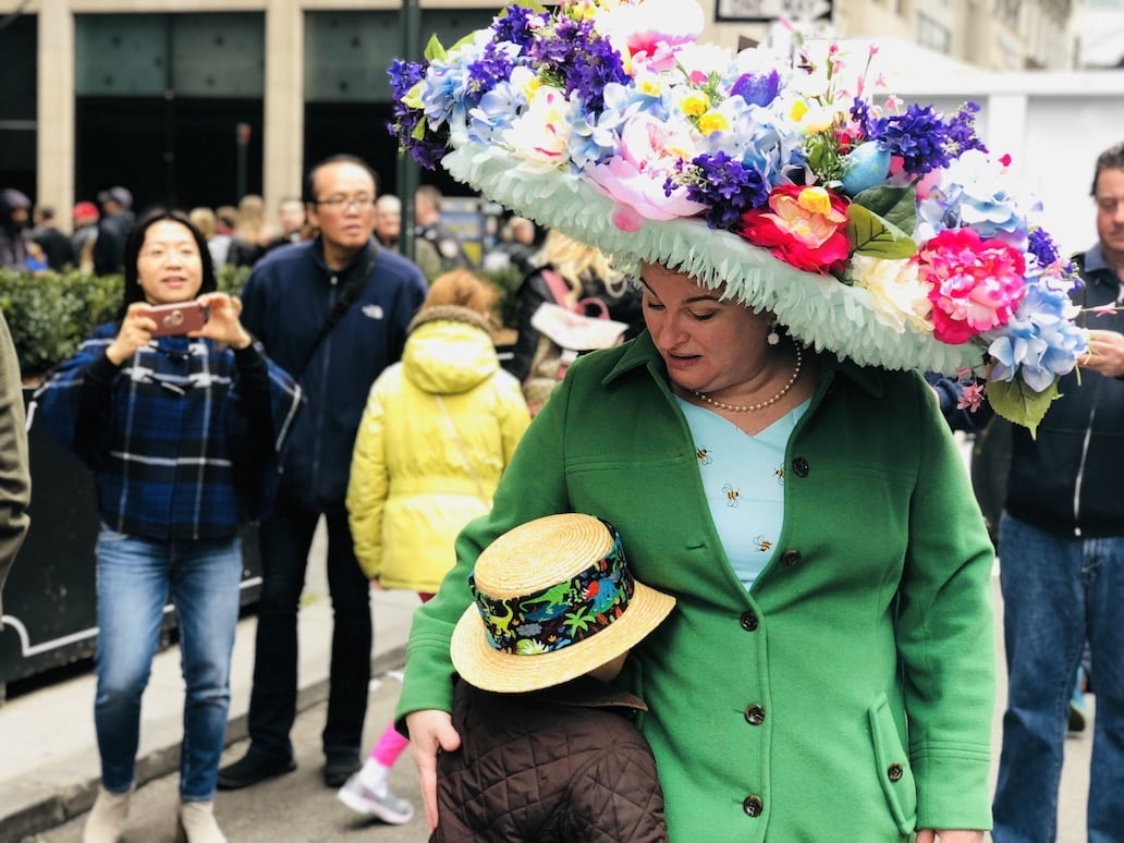2018 Пасхальный парадшляп